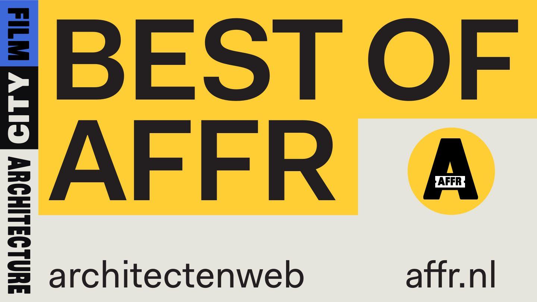 Architectenweb Best of AFFR – Uitverkocht