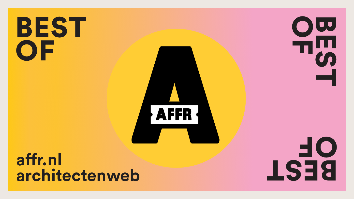 Architectenweb Best of AFFR 2018