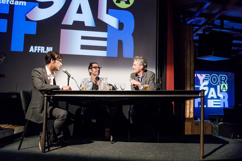 Isaac Niemand and Joep Mol at Rotterdam Late Night