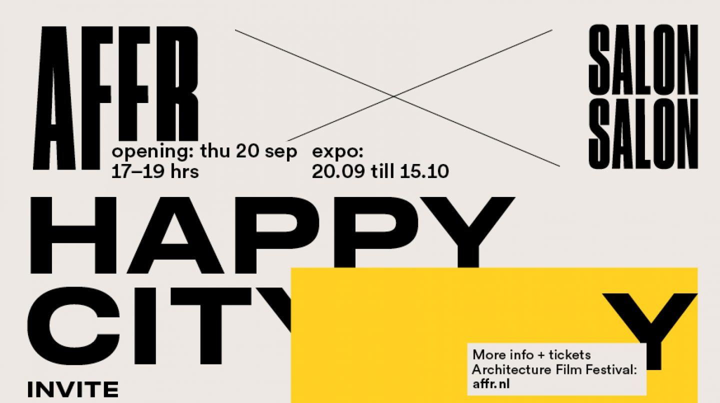 Happy City! From 20 September at SalonSalon