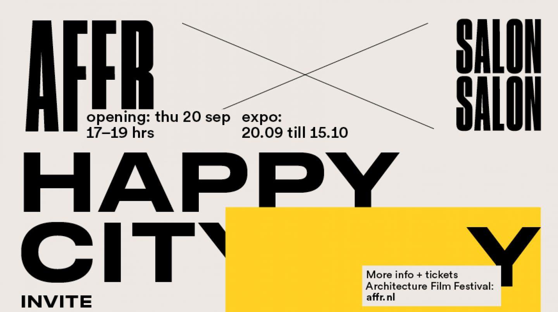 Happy City! From 20 September at SalonSalon